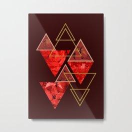 Red Fall #society6 #decor #buyart Metal Print