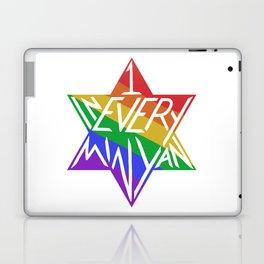 one in every minyan Laptop & iPad Skin