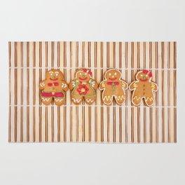 Gingerbread cookies Rug