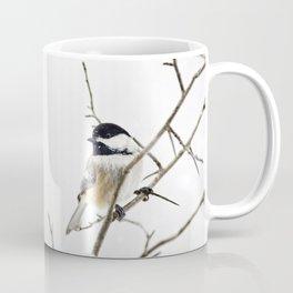 Snowy Chickadee Coffee Mug