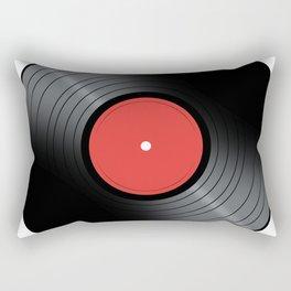 Music Record Rectangular Pillow