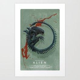 XENO2 Art Print