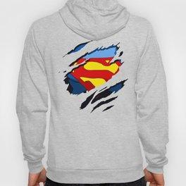 superhero torn - SuperMan Hoody