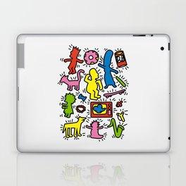 Keith Haring & Simpsons Laptop & iPad Skin