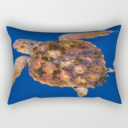 Loggerhead turtle Rectangular Pillow