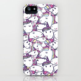 a lot of unicorns iPhone Case
