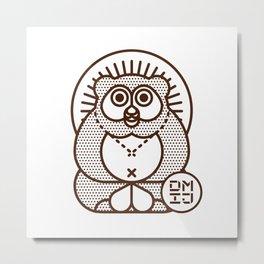 TANUKI Metal Print