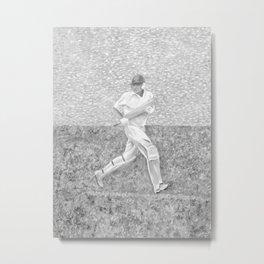 The Batsman II Metal Print