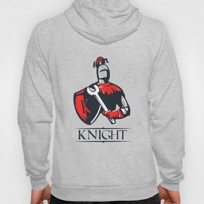Cartoon plumber Knight Hoody