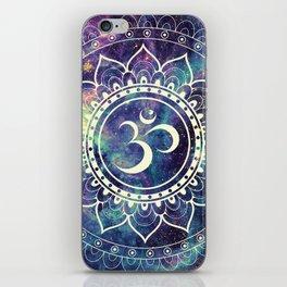 Om Mandala : Deep Pastels Galaxy iPhone Skin