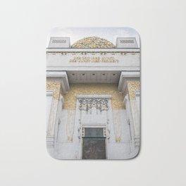 Secession building in Vienna Austria art nouveau Bath Mat