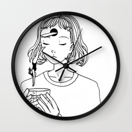 Conclusion Jumping Wall Clock