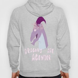 Dragons are Agender Hoody