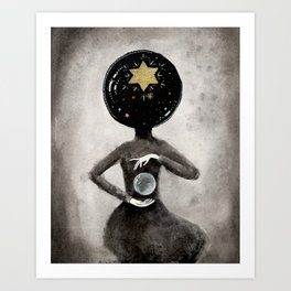 Star Hostess Art Print