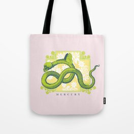 Crucified Serpent Tote Bag