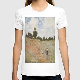 Claude Monet's Coquelicots: La Promenade T-shirt