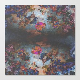 Pixelated Canvas Print