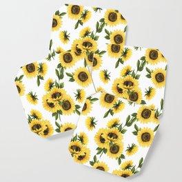 Lovely Sunflower Coaster
