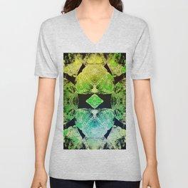 Green Mandala-Heart Chakra Unisex V-Neck