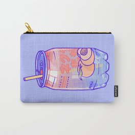Peach Bubbles Carry-All Pouch