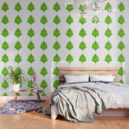 Lime Leaf Wallpaper