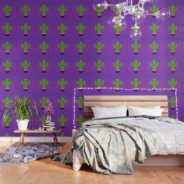 Prickly 80s Wallpaper