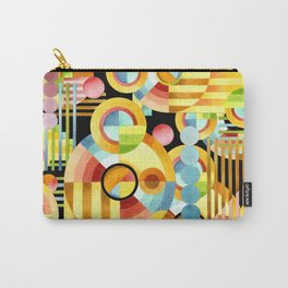 Art Deco Maximalist Carry-All Pouch