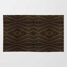 Futuristic Geometric Design Rug