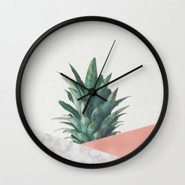 Pineapple Dip VI Wall Clock