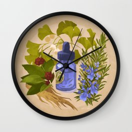 Energy & Concentration Wall Clock