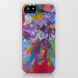 Flower Frenzy iPhone Case