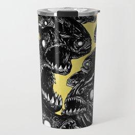 The Riot : Piranhas (color version) Travel Mug