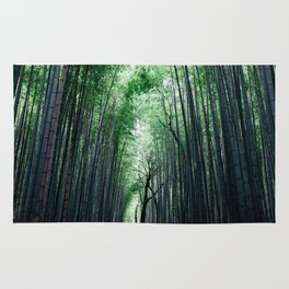 Bamboo Forest, Kyoto, Japan 2 Rug