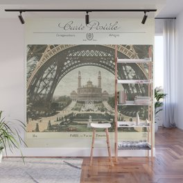 Paris Postcard #2 by Murray Bolesta Wall Mural