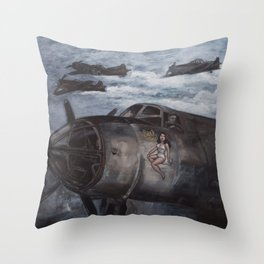 Sack Time! Throw Pillow