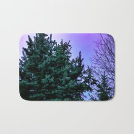 Purple Pine Bath Mat