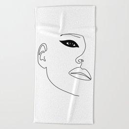 Kate Eye Beach Towel