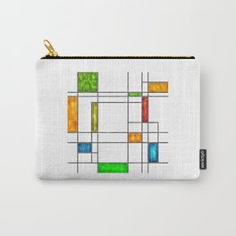 Inspired by Piet Mondrian Carry-All Pouch