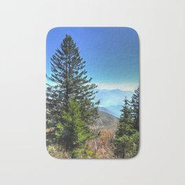Blue Ridge Mountains North Carolina Bath Mat