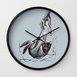 Rabbit  foot Wall Clock