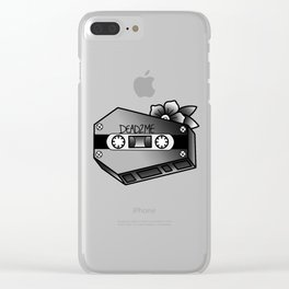 coffin tape Clear iPhone Case