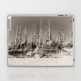 Dead Trees On The Beach Laptop & iPad Skin
