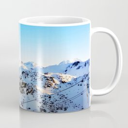 Shades of blue at the mountains Coffee Mug