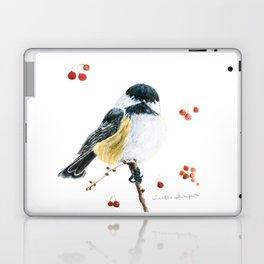 Christmas Chickadee by Teresa Thompson Laptop & iPad Skin