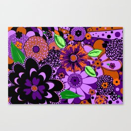 Flowers To Go Canvas Print