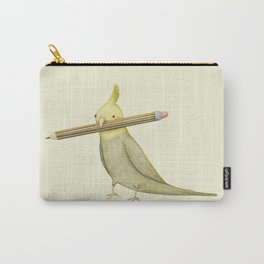 Cockatiel & Pencil Carry-All Pouch