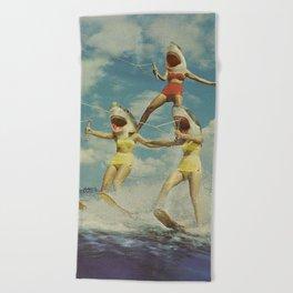 On Evil Beach Beach Towel