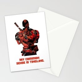 """""""My Common Sense Is Tingling."""" Stationery Cards"""