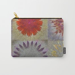 Uncaptivate Stripped Flower  ID:16165-034048-23510 Carry-All Pouch