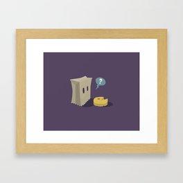 Pack-Man Framed Art Print